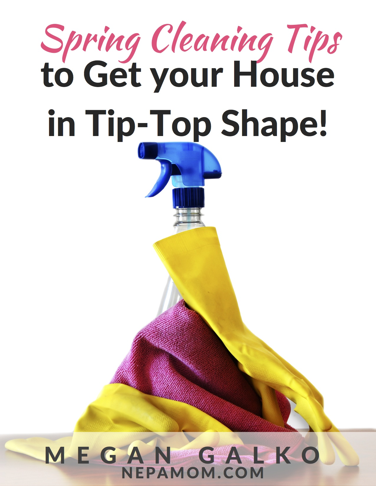 Spring Cleaning Tips to Get Your House In Tip Top Shape!