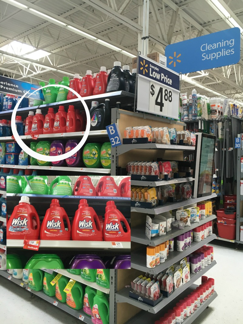 Walmart has your laundry needs #Wisk60