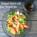 Apple Walnut Salad with Balsamic Vinaigrette Dressing