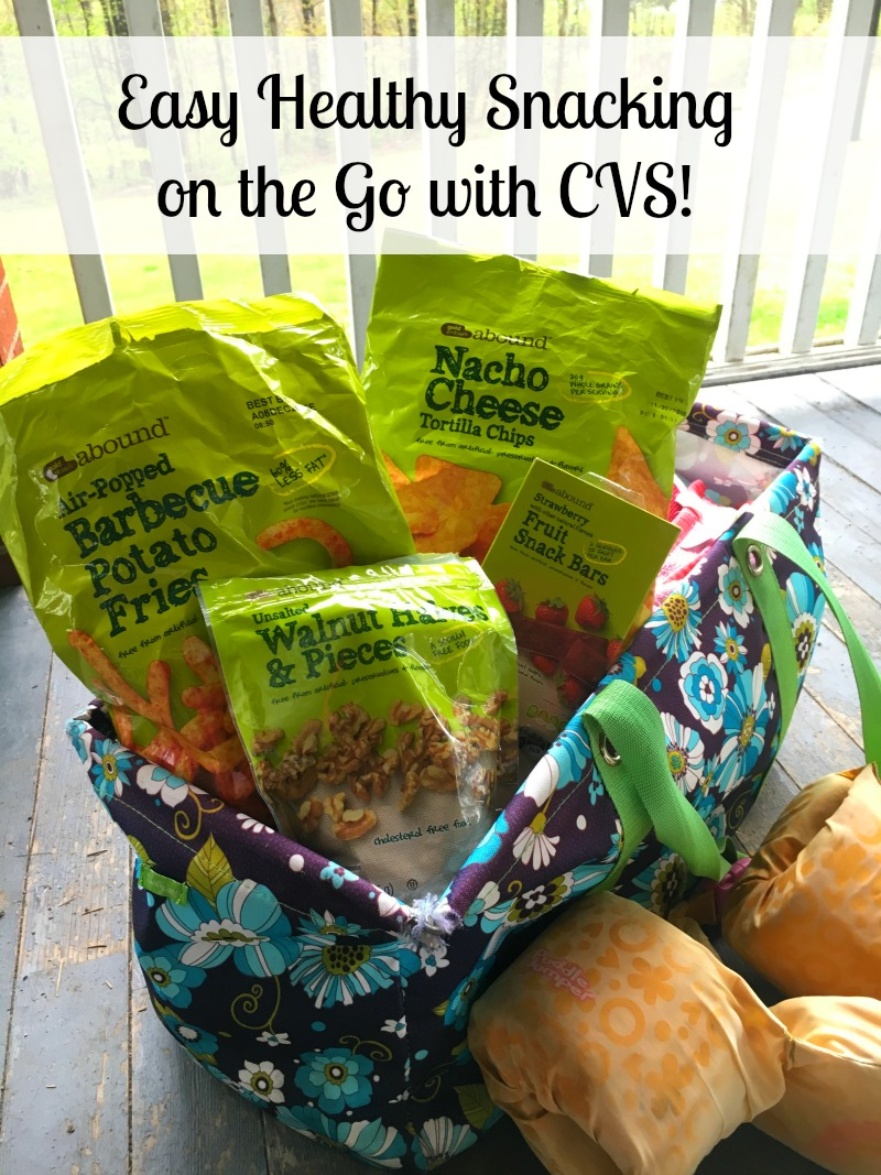 Easy Healthy Snacking on the Go with CVS #SpringSnacking #CVS #ad