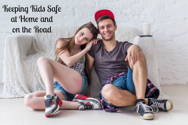 Keeping Kids Safe at Home and on the Road #ad #DriveSafeChallenge