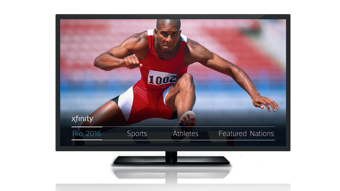 Comcast NBCUniversal Rio Olympics --X1 makes Olympic Viewing easy
