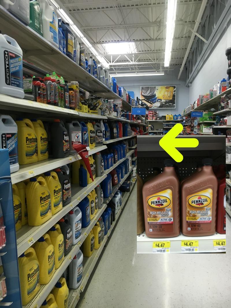 Pennzoil Motor Oil From Walmart #RoadTripOil