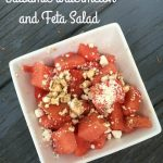 Balsamic Watermelon and Feta Salad–Easy Summer Lunch!