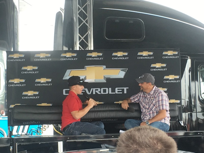 Driver Q&A at Fan Fair #PoconoRaceway #NASCAR #ad
