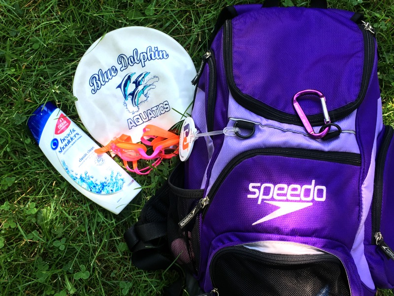 Essentials for swim team members #LetsPowerTheirDreams #ad