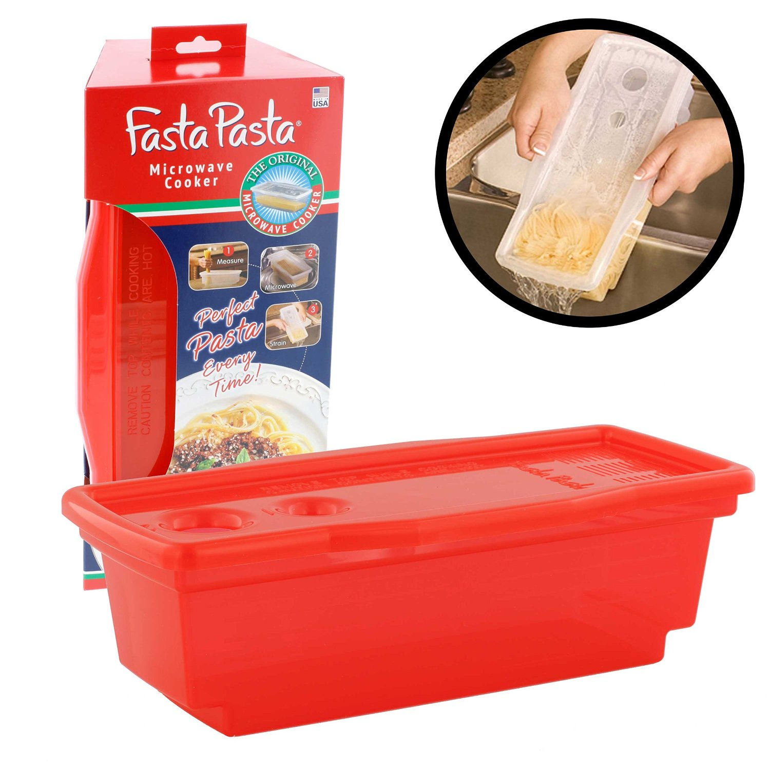 Fasta Pasta--helps make dinnertime a snap!