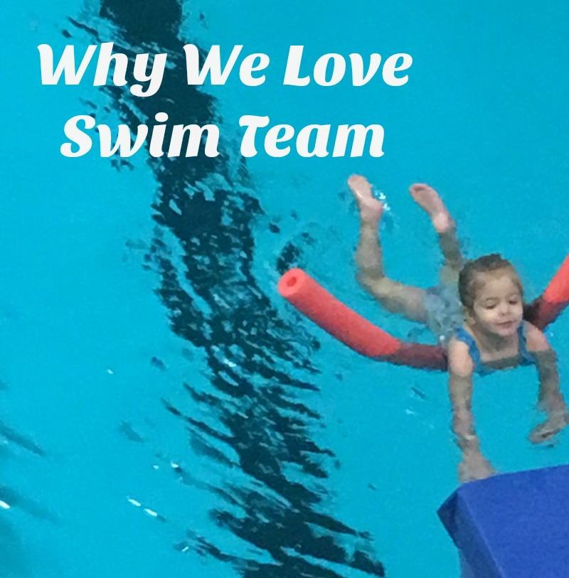 Why We Love Swim Team #LetsPowerTheirDreams #ad