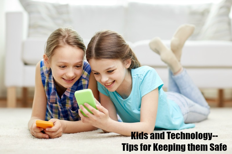 Kids and Technology--Tips for Keeping them Safe #TheSmartTalk #CG #ad