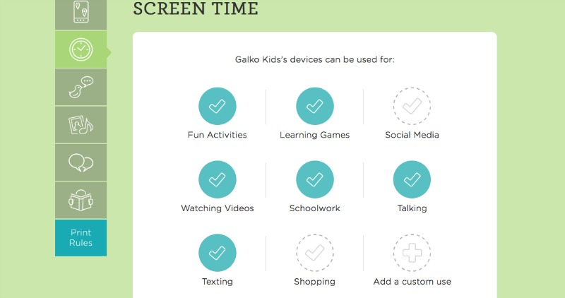 With Smart Talk you can even set rules for Screen time usage #TheSmartTalk #CG #ad