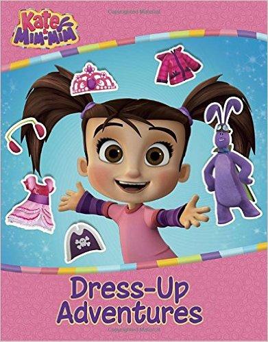 Kate and Mim-MIm Dress Up Adventures Sticker Book