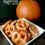 White Chocolate Pretzel Recipe:  Perfect For Halloween Pretzels!