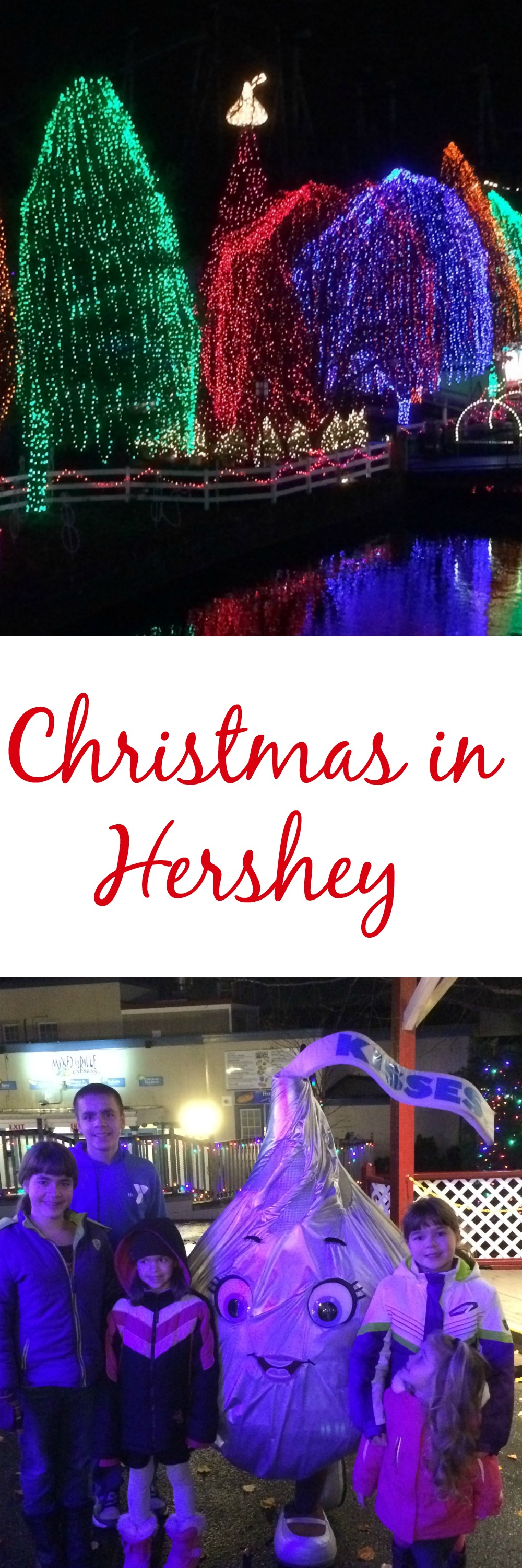 Christmas in Hershey is a great way to kick off the Holiday season. It is a family travel tradition that the while family looks forward to each year. #Sweetestmoms #ad
