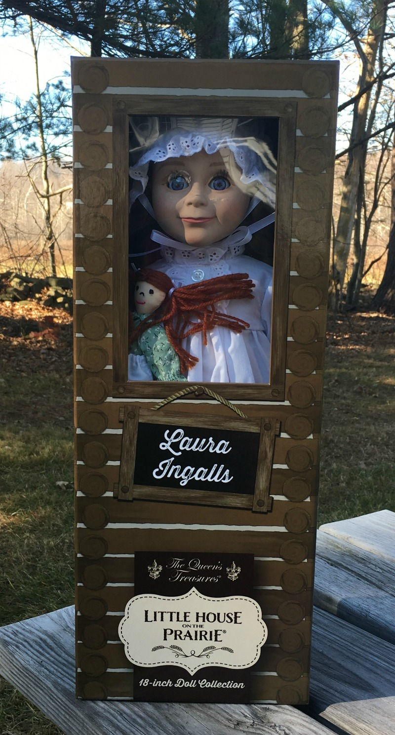 Laura Ingalls from the Queens Treasures makes a great gift #ad