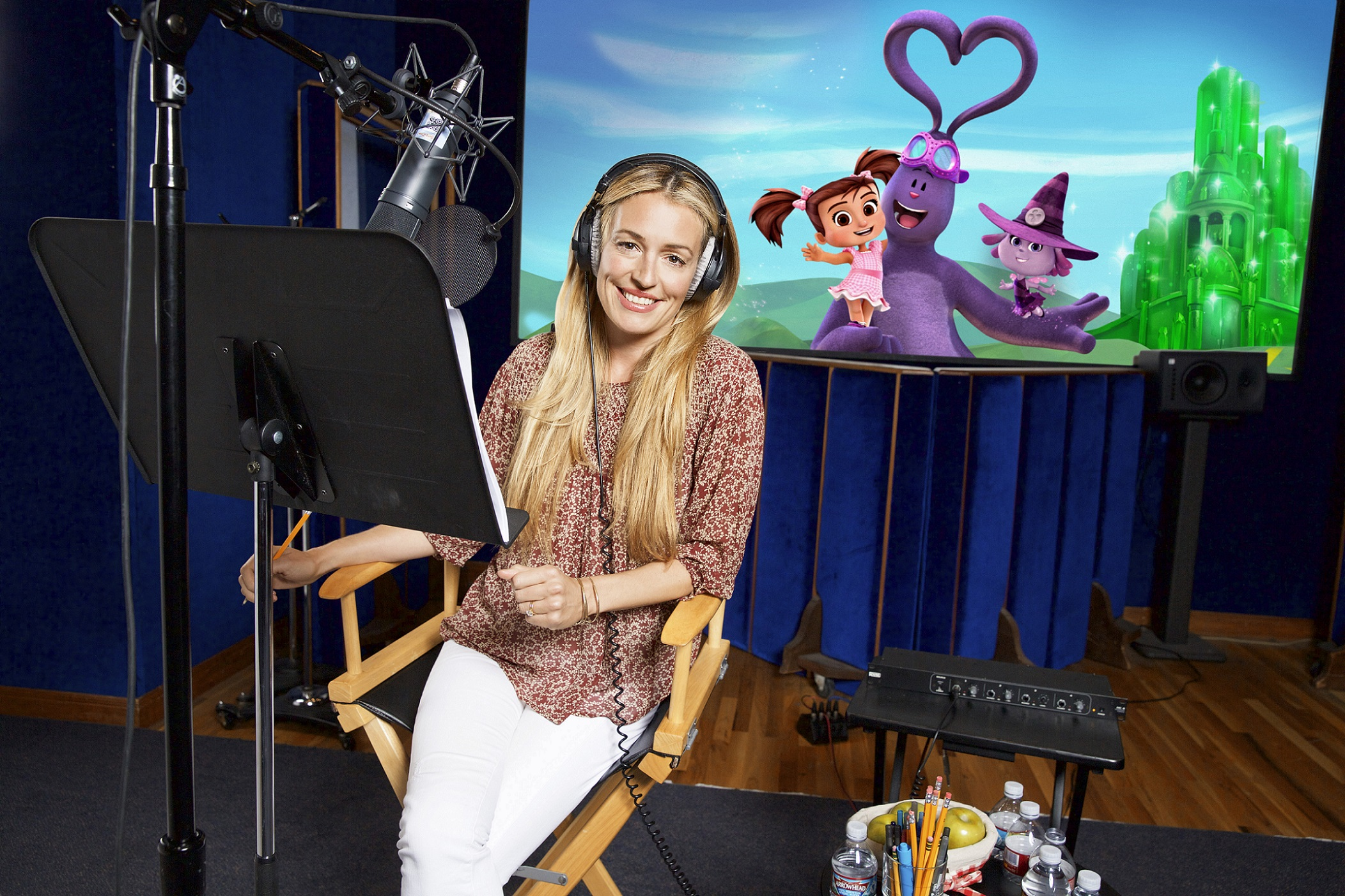 "Cat Deeley voice over for ""Kate In OZ"" on August 3, 2016, in Burbank, California. (Photo by Ryan Miller/Capture Imaging) #ad"