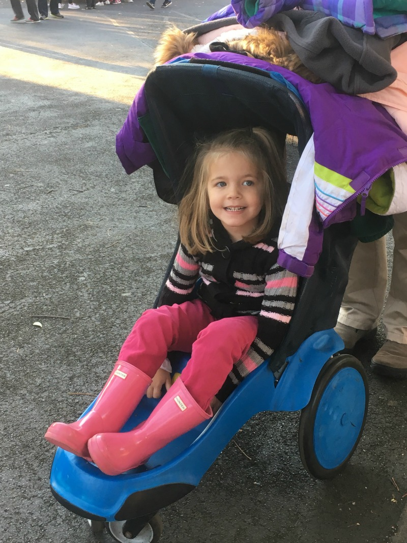Renting a stroller makes getting around the park quickly even easier. With more than 21 acres it is a lot of ground to cover so strollers make such a difference! #Sweetestmoms #ad