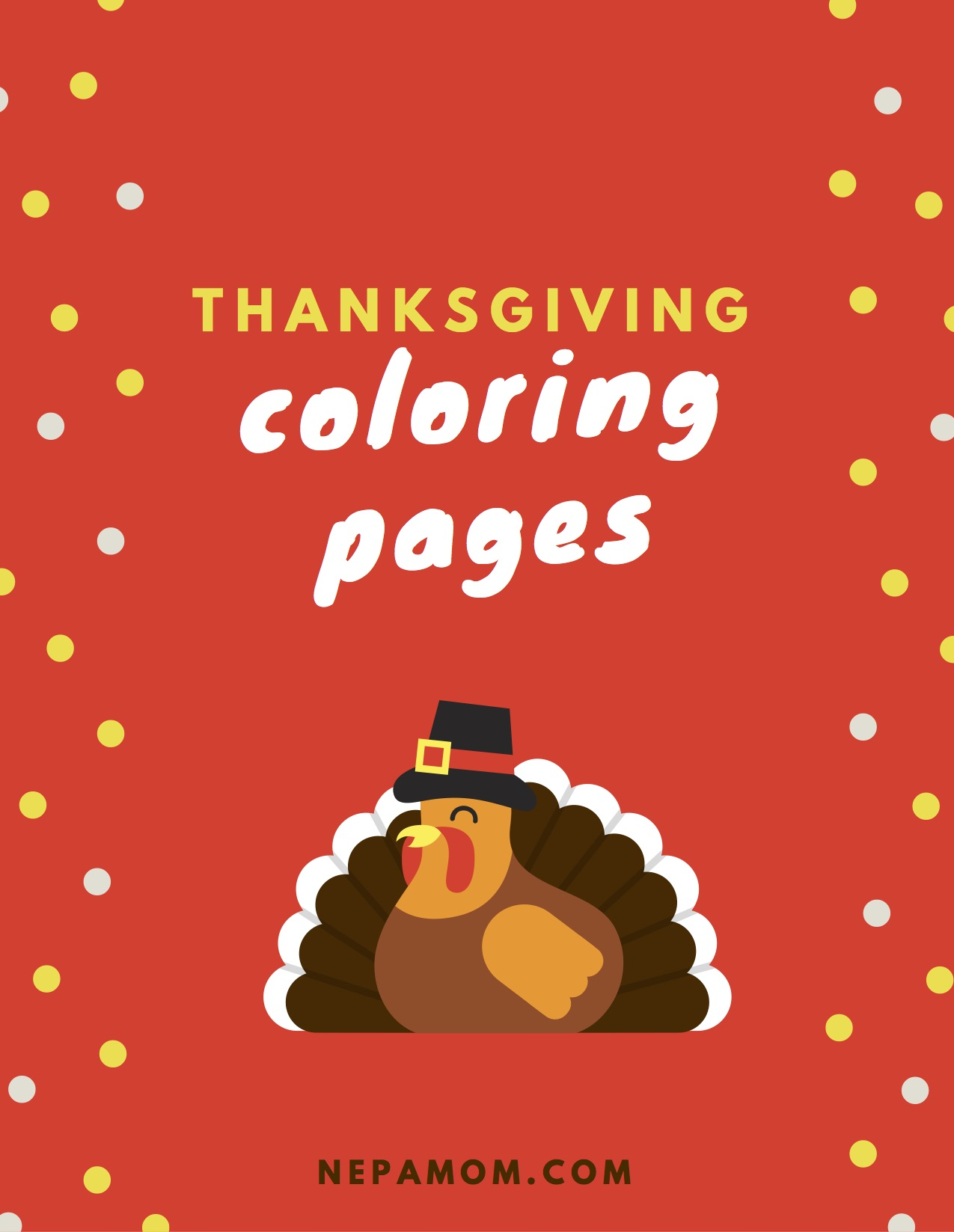 Thanksgiving Color Pages--Lots of fun coloring pages to keep the kids busy on Thanksgiving Day!