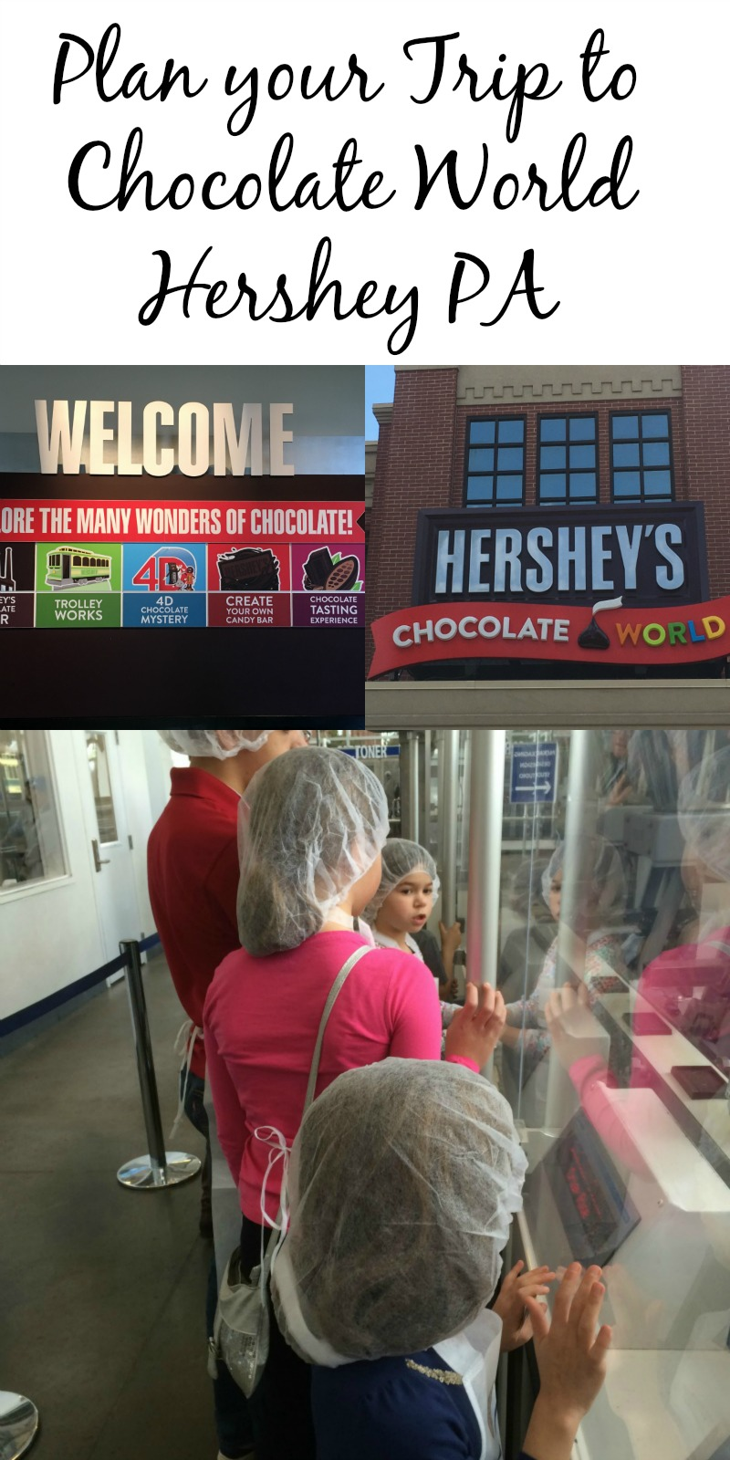 Plan your trip to Chocolate World in Hershey PA #SweetestMoms #HersheyPa #ad