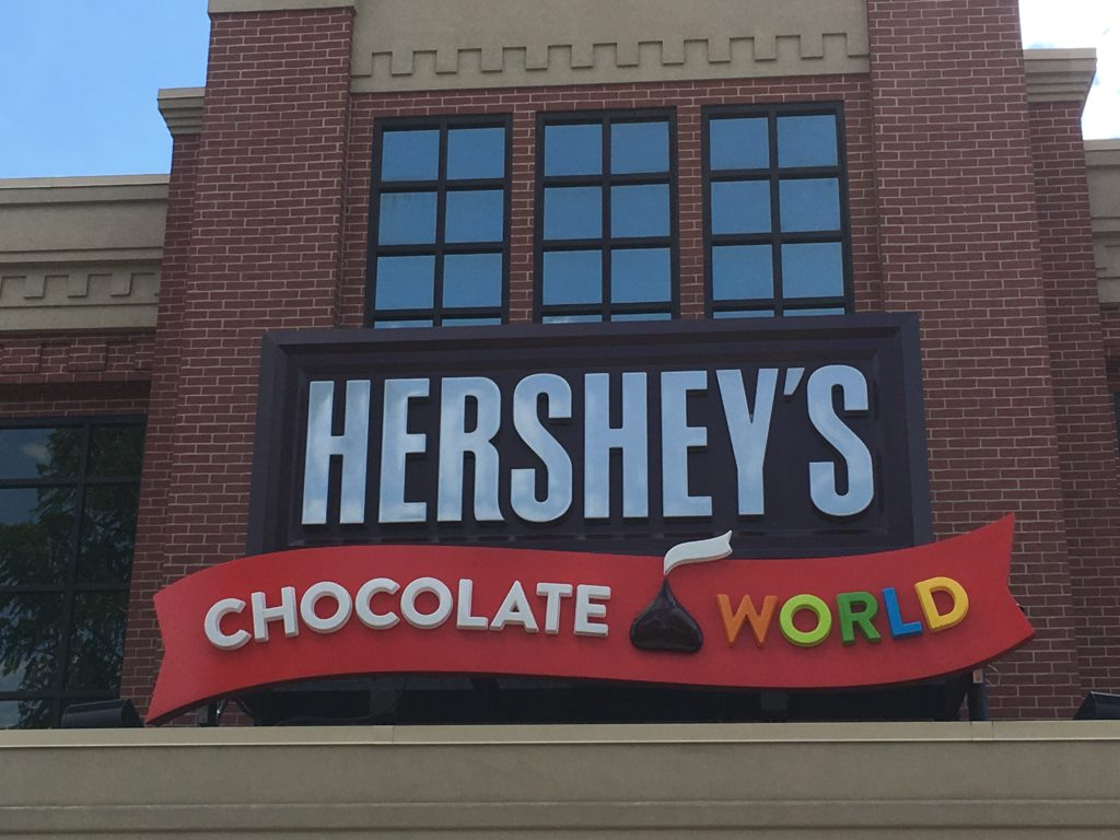Hershey's Chocolate World offers fun attractions for the whole family! #sweetestmoms #hersheypa #ad