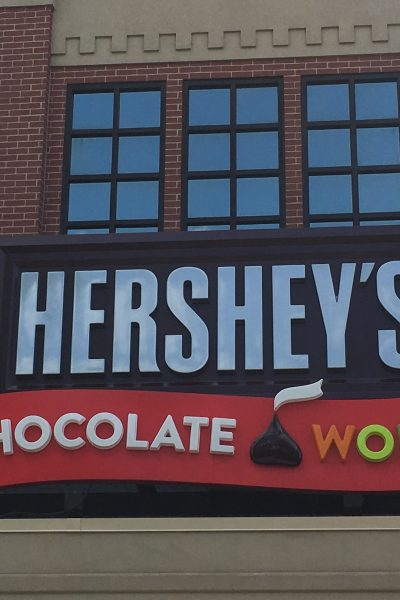 Having Fun at Chocolate World in Hershey PA