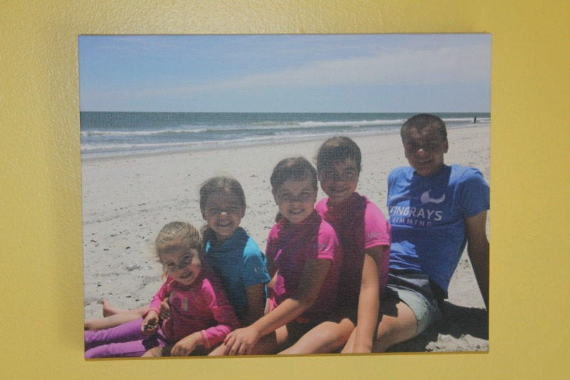 Gallery Wrapped Photo Canvases are perfect gifts--just upload what photo you want printed, have it shipped to your house or store and you have a personalized gift that everyone will love. #BringHolidaysToLife #ad #CVSPhoto