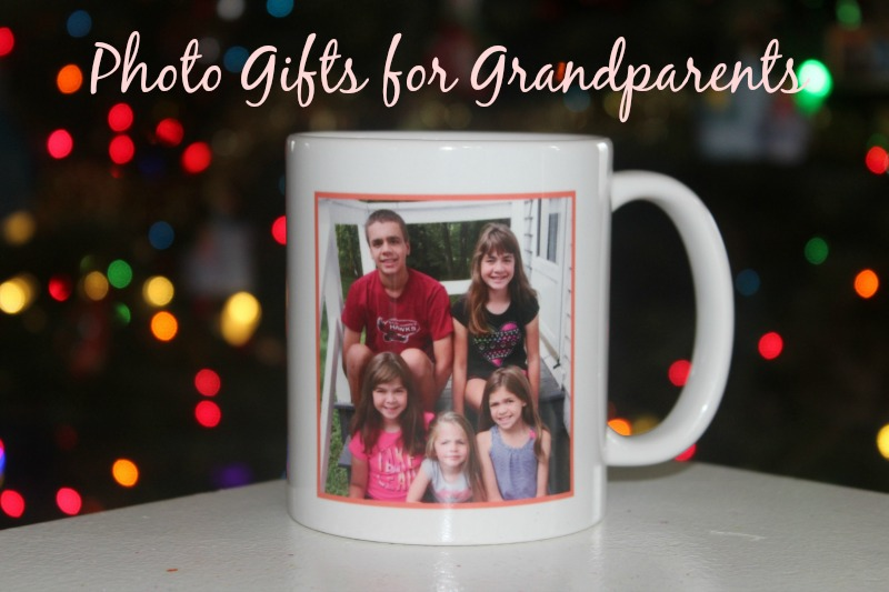 Photo Gifts for Grandparents--photo gifts are great for grandparents who love to show off pictures of their grandkids. #BringHolidaysToLife #ad #CVSPhoto