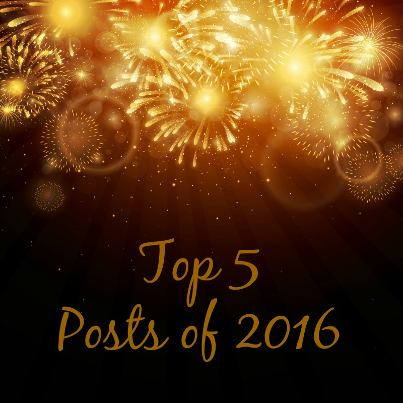 Top 5 Posts of 2016--check out the top 5 Posts on NEPA MOM in 2016! Did your favorite make the list?