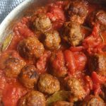 Homemade Meatball Recipe in Sauce