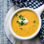 Potato, Carrot & Leek Soup