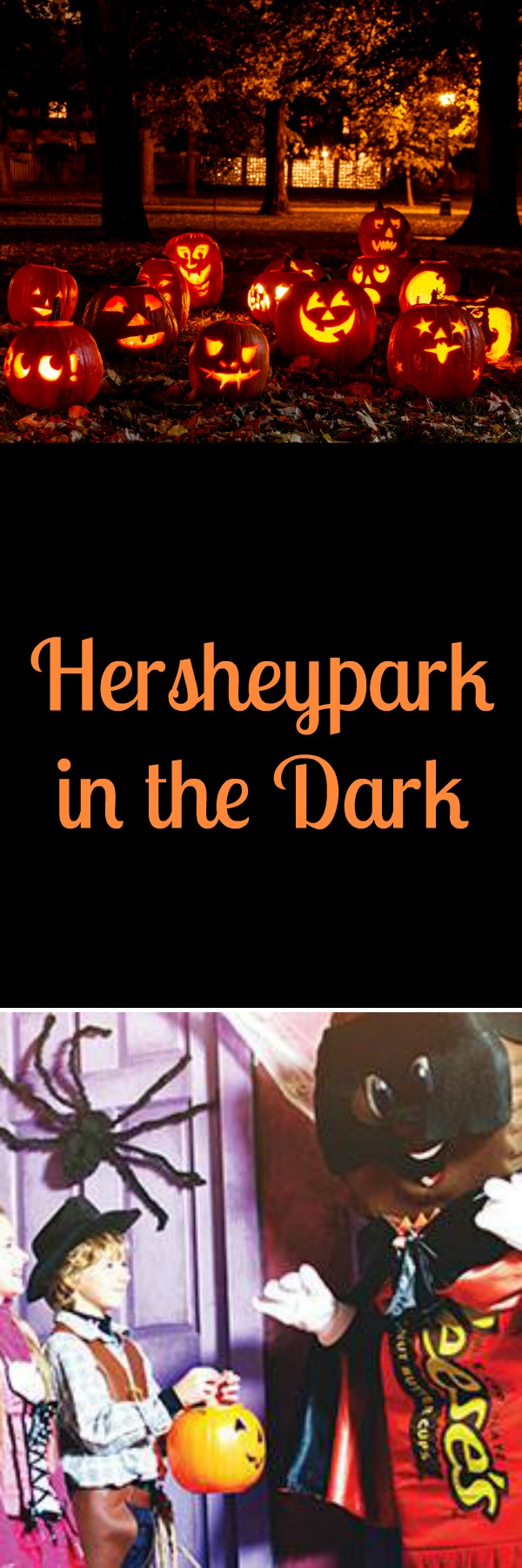 Halloween in Hershey means one thing...Hersheypark in the Dark! This fun, family friendly attraction is perfect for kids of all ages and isn't just at Hersheypark. The whole town of Hershey has sweet treats around every corner, make sure to check it out!