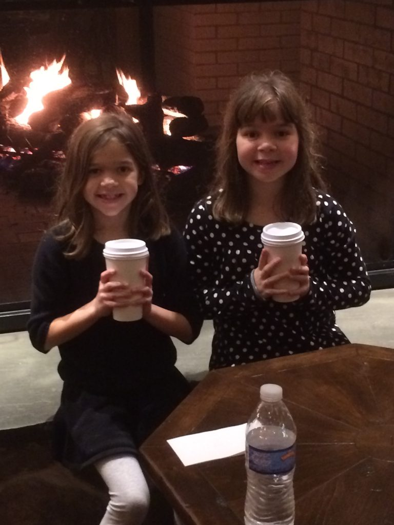 Sipping Cocoa next to the fire in the Hershey Lodge is a great way to finish our a great day at the park. Sit, relax and reminisce about all the fun you had as a family!