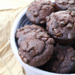 Double Chocolate Banana and Chocolate Chip Muffins