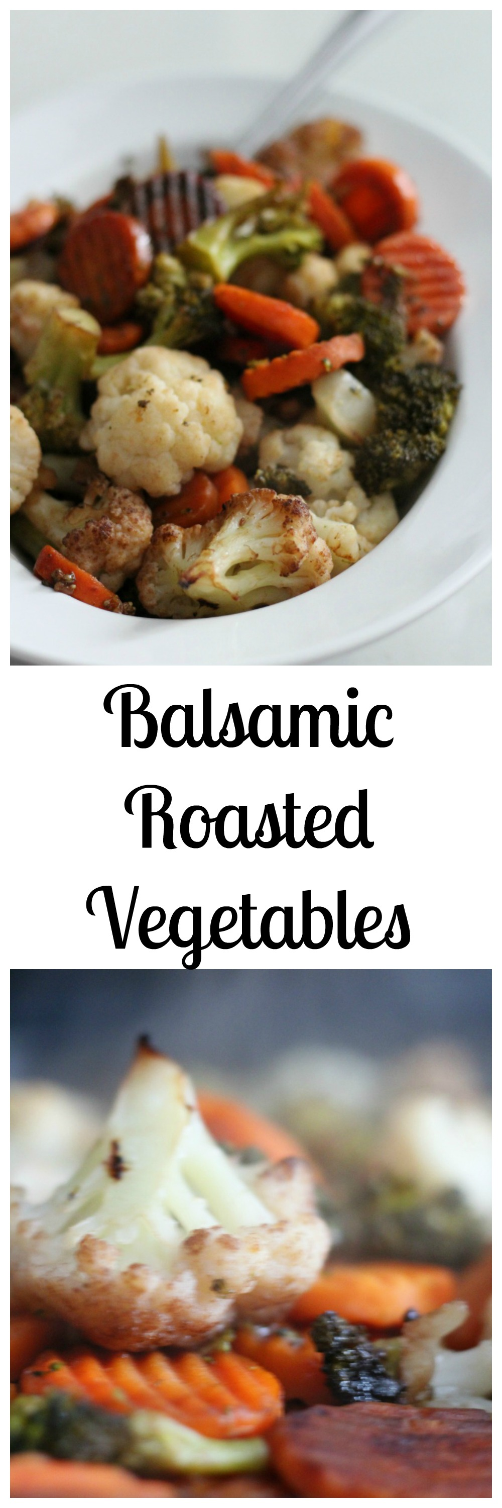 Balsamic Roasted Vegetables in bowl
