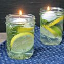 Easy Bug Repellent Mason Jar Luminaries