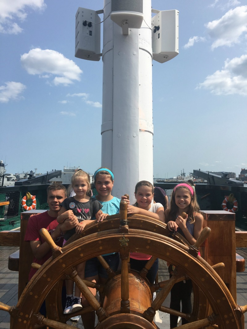 The USS Constitution provides engaging and hands-on experiences for all visitors.