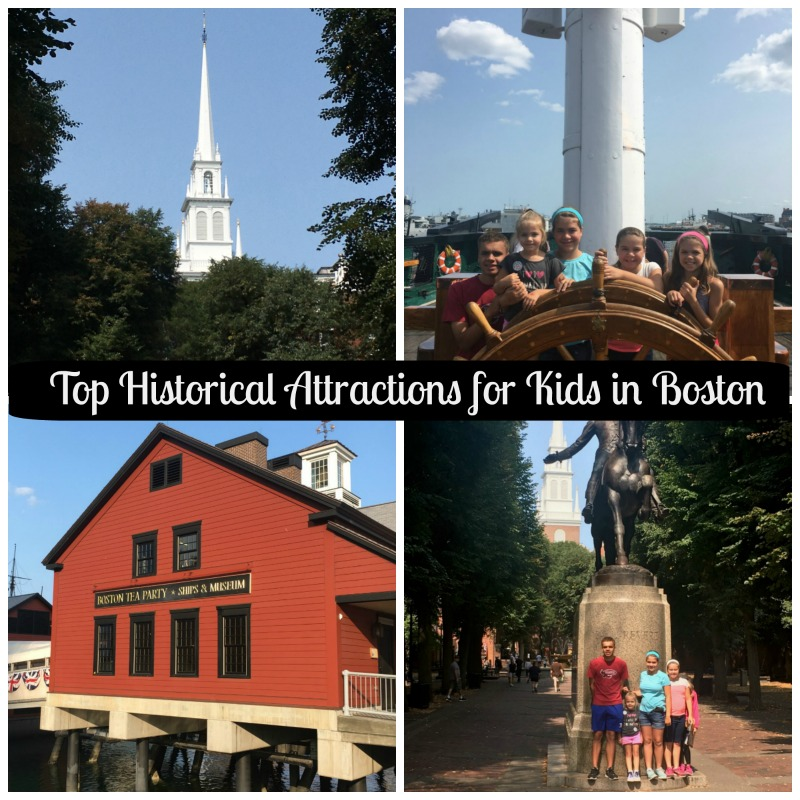 Top Historical Attractions for Kids in Boston