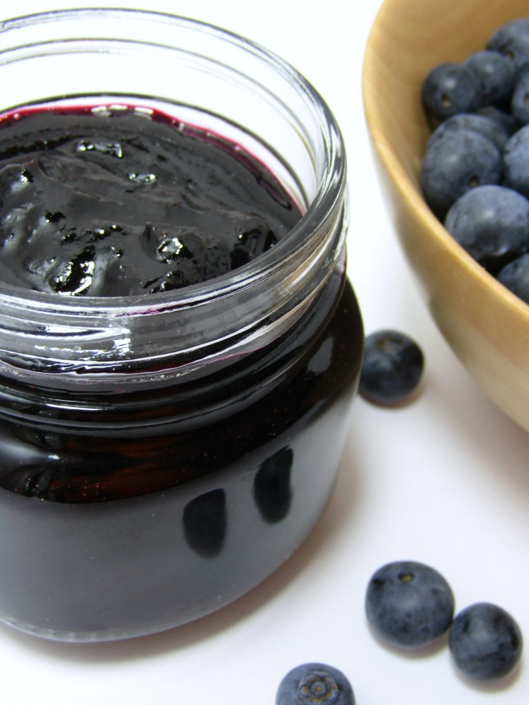 This easy and healthy Blueberry Jam is made in the Instant Pot!